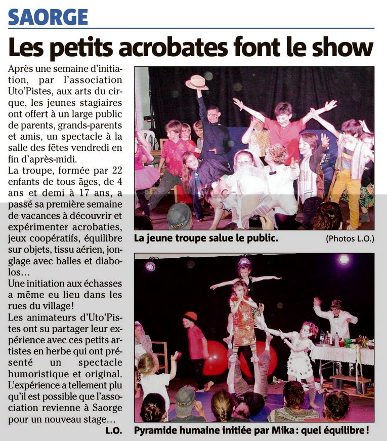 article NM stage cirque